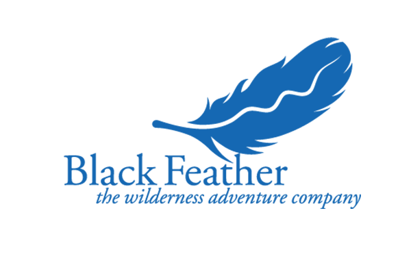 Black Feather Logo
