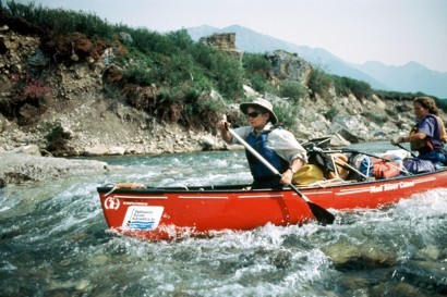 Snake River Whitewater Canoe Journey