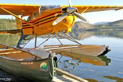 LIARD RIVER | fly-in canoe adventure