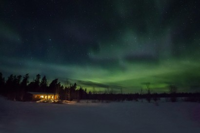 Aurora Skies – Private Cottages