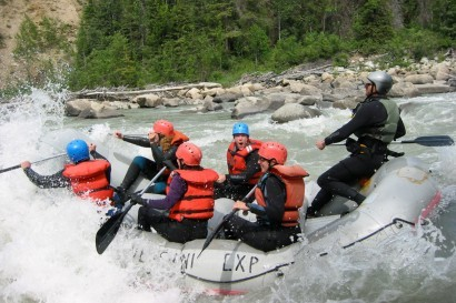 One Day Upper Tatshenshini Rafting