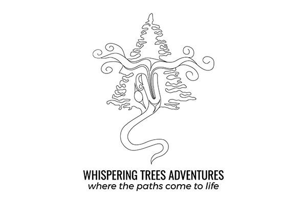 Whispering Trees Adventures Logo