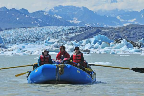 Rafting on the Alsek River