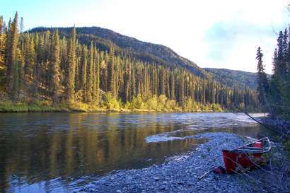 The Klondiker: Paddling the Big Salmon River