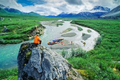 Yukon's Snake River Whitewater Raft Journey