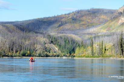 Six Day Guided Canoe Trip on Yukon River